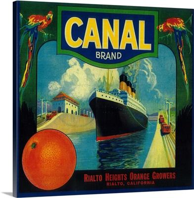 Canal Orange Label, Rialto, CA
