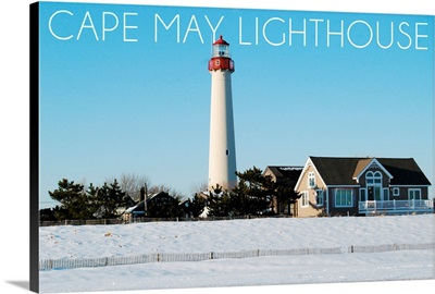 Cape May, New Jersey, Lighthouse in Winter