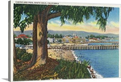 Casino and Pier, Santa Cruz, CA