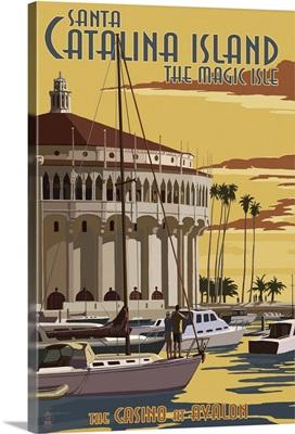 Catalina Island, California, Casino and Marina