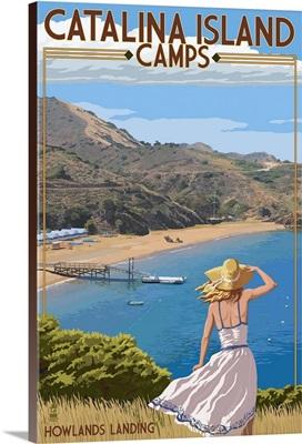 Catalina Island Camps, Howlands Landing, California