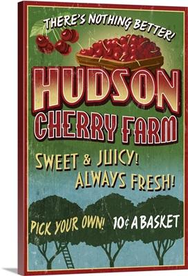 Cherry Farm, Vintage Sign