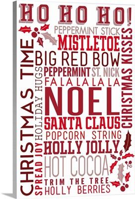 Christmas Typography Artwork