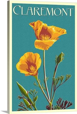 Claremont, California, Poppy, Letterpress