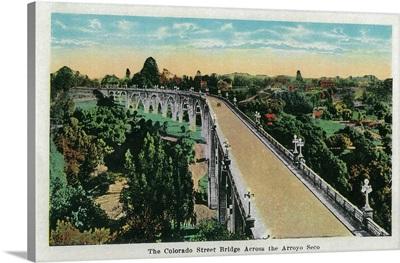 Colorado Street Bridge Across the Arroyo Seco, Pasadena, CA