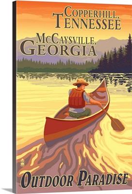 Copperhill, TN and McCaysville, GA, Canoe Scene