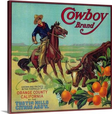 Cowboy Orange Label, Tustin, CA