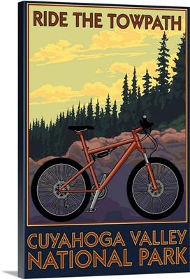 Cuyahoga Valley National Park, Ohio, Mountain Bike