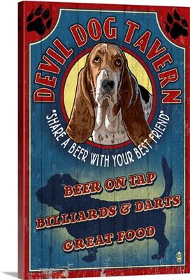 Devil Dog Tavern, Basset Hound