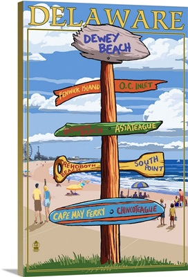 Dewey Beach, Delaware, Destination Signpost
