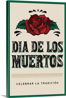 Dia de los Muertos Typography