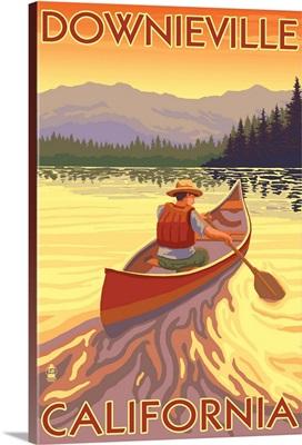 Downieville, California, Canoe Scene