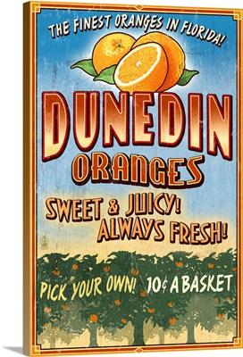 Dunedin, Florida, Orange Grove, Vinatge Sign