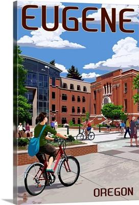 Eugene, Oregon, Campus Scene