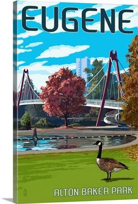 Eugene, Oregon, Cityscape