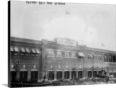 Fenway Park, Boston Red Sox, Exterior View, Boston, MA
