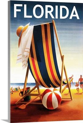 Florida, Beach Chair and Ball