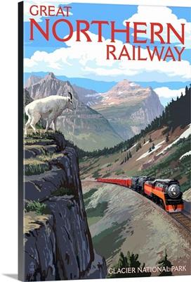 Glacier National Park, Montana, Great Northern Railway