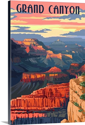 Grand Canyon National Park, Sunset View