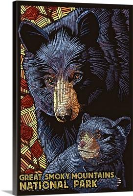 Great Smoky Mountains National Park, Black Bears, Mosaic