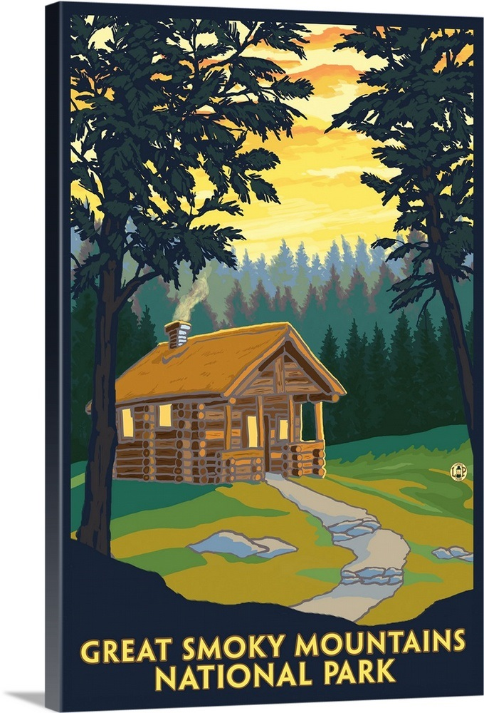 Great Smoky Mountains National Park Tennessee Cabin In The Woods