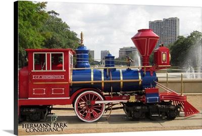 Hermann Park Conservancy Locomotive