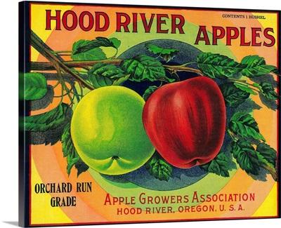 Hood River Apple Label, Hood River, Oregon