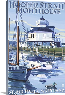 Hooper Strait Lighthouse, St. Michaels, Maryland