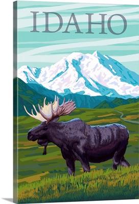 Idaho, Moose and Mountain