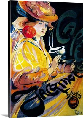 Jacqmotte Cafe Vintage Poster, Europe