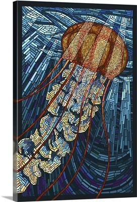 Jellyfish, Paper Mosaic