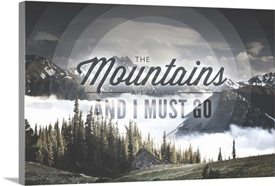 John Muir, The Mountains are Calling