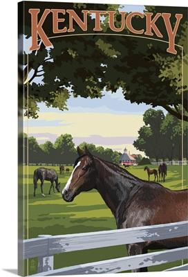 Kentucky, Thoroughbred Horses