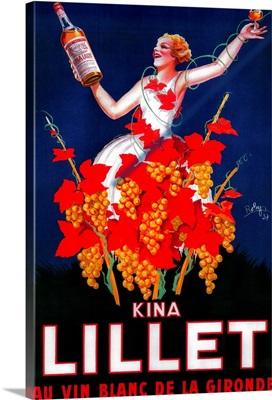 Kina Lillet Vintage Poster, Europe