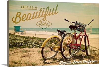 Laguna Beach, California, Life is a Beautiful Ride, Beach Cruisers