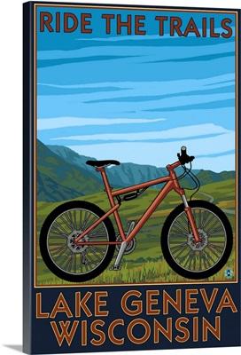 Lake Geneva, Wisconsin, Mountain Bike Scene, Ride the Trails