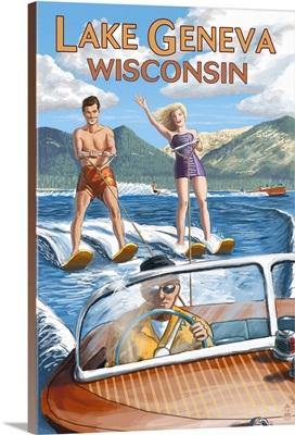 Lake Geneva, Wisconsin, Water Skiers