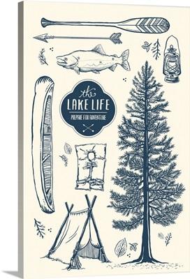 Lake Life Collage