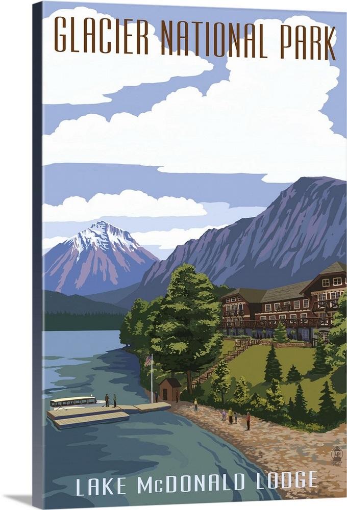 Lake Mcdonald Lodge >> Lake Mcdonald Lodge Glacier National Park Montana