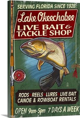 Lake Okeechobee, Florida, Tackle Shop