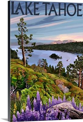 Lake Tahoe, Bay Scene