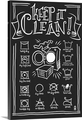 Laundry Symbols (Black)