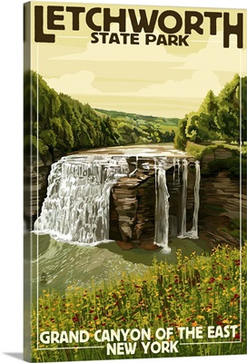 Letchworth State Park, New York, Grand Canyon of the East