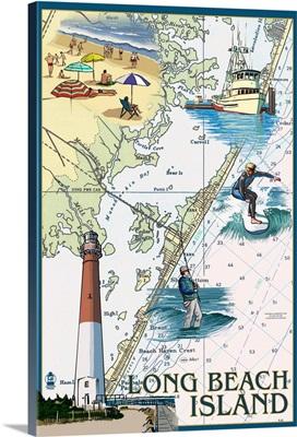 Long Beach Island, Nautical Chart