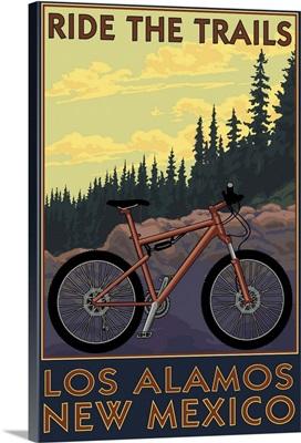 Los Alamos, New Mexico, Mountain Bike Scene