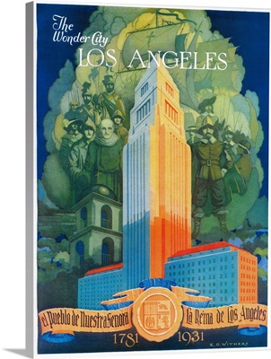 Los Angeles Promotional Poster, Los Angeles, CA