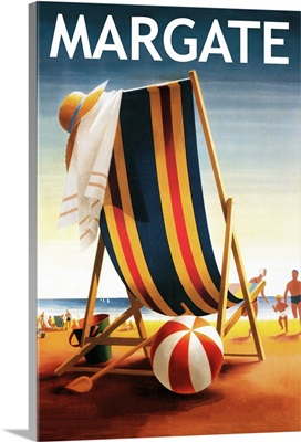 Margate, New Jersey, Beach Chair and Ball
