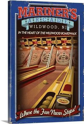 Mariner's Arcade, Wildwood, New Jersey