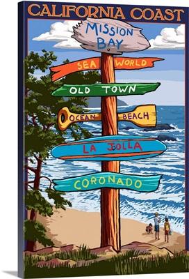 Mission Bay, California, Destination Signpost