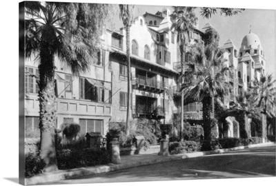 Mission Inn Exterior of Riverside, CA